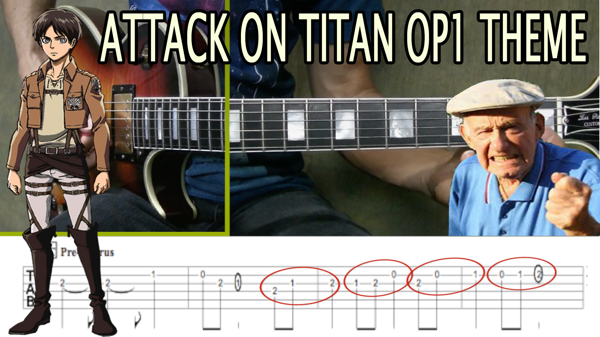 Free Lesson: Learn the Attack on Titan Opening 1 Theme! - Kids Guitar Academy